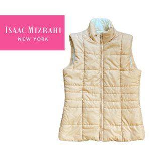 Isaac Mizrahi Puffer Vest - Small